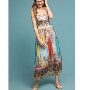 Anthropologie Virginia Midi Dress